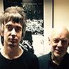 Jeff and Brian Eno