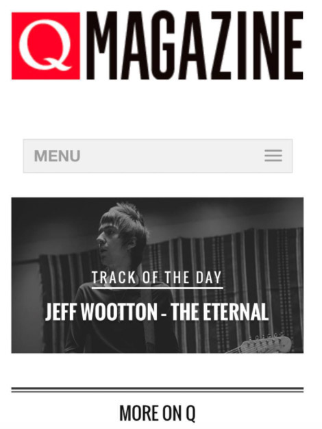 Q Magazine Track of The Day